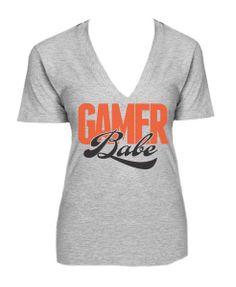 Gamer babe (from Santa Cruz) shirt!