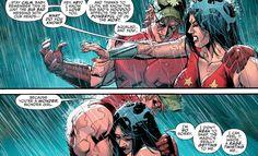 Donna Troy and roy harper Nightwing, Batgirl, Dc Comic Books, Comic Art, Dc Couples, Roy Harper, Comic Book Panels, Female Hero, Dc Comics Art