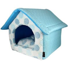 Parisian Pet Cotton Candy House Pet Bed Blue * Want additional info? Click on the image.