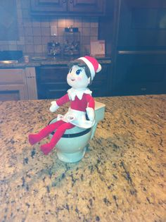 Elf on the Shelf. Funny!
