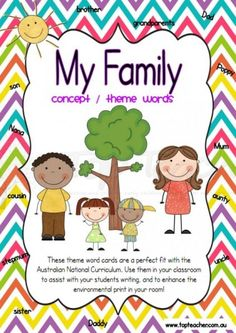 family theme words