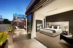 Top of the Hill Residence in Melbourne... Fleetwood doors