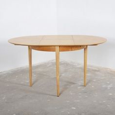 Located using retrostart.com > Birch Series Dining Table by Cees Braakman for Pastoe