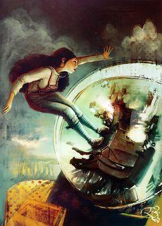 Amazing Fantasy Illustrations by Loic Zimmermann