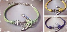 Anchor Bracelet –9 Colors Quick Ship! at VeryJane.com