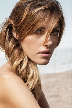 Large image of long brown straight hairstyles provided by Franck Provost. Picture Number 17632