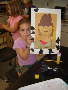 Jamestown Elementary Art Blog: 2nd Grade Cowboys and Cowgirls!