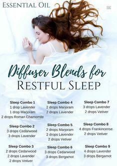 Essential Oil Diffuser Blends for Restful Sleep