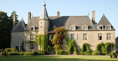 Chateau De Saint Paterne in Normandy. Simply breathtaking - check out their website and peruse the photo gallery, the rooms are so romantic.