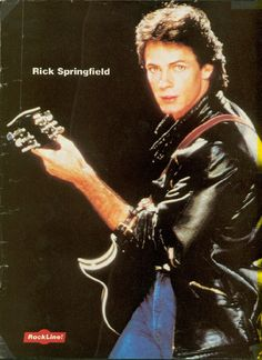 Aaah, the 80's. My first concert - seeing Rick Springfield. Dr. Noah Drake didn't disappoint.