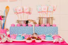 Panelas e panelinhas: tudo para decorar a festa mini chef!