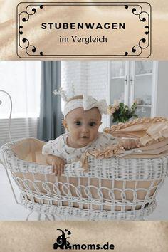 Ein #Stubenwagen für eure #Baby gibt es mit #Nestchen #Bezug und #Himmel . Der #Stubenwagen kann aus #Korb oder #Holz sein und ihr könnt den Stubenwagen nach euren #Ideen selber #dekorieren . Auf moms.de haben wir eine Vielzahl von Stubenwagen  von #Skandinavisch bis #Weiss Baby Zimmer, Diy Baby, Betta, Bassinet, Ikea, Furniture, Home Decor, Boy Or Girl, Kid Beds