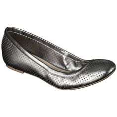 Target $14-20 Women's Merona® Emma Perforated Genuine Leather Flats - Assorted Colors