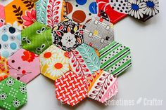 I tried just about everything I could think of with these hexagons. Different papers, different stitches, different methods of attaching… So I wanted to share all of this with you to let you know w...