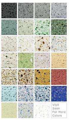 recycled glass countertops- for kitchen and/or bathroom