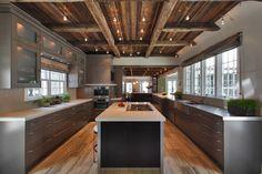 Image result for mountain modern decor condo kitchen