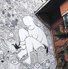 by Millo (detail) - Turin, Italy (LP)