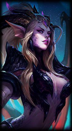 League of Legends- Dragon Sorceress Zyra