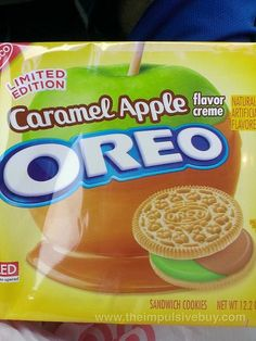 Nabisco Limited Edition Caramel Apple Oreo Cookies by theimpulsivebuy, via Flickr