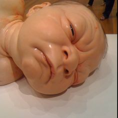 Massive scary baby.