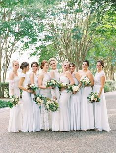 Your bridesmaids have got your back! Photography: Becca Lea - beccalea.com   Read More on SMP: http://www.stylemepretty.com/2017/03/07/at-home-backyard-dallas-wedding/