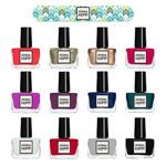 Jenna Hipp 12-pc Nail Polish Collection, the BEST nail polish