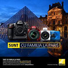 Nikon te trimite la Paris cu familia Nikon, Louvre, Technology, Building, Places, Travel, Products, Europe, Park