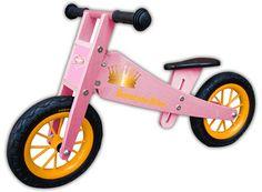 Holzlaufrad BambinoBike Girl rosa