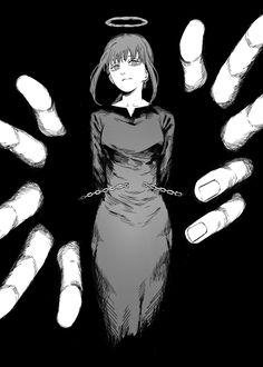Chica Anime Manga, Manga Girl, Anime Art Girl, Anime Girls, Character Inspiration, Character Art, Dark Anime, Art Reference Poses, Manga Drawing