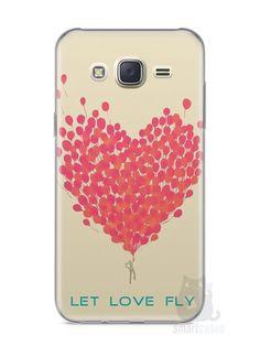 Capa Capinha Samsung J7 Deixe o Amor Voar - SmartCases - Acessórios para celulares e tablets :)