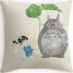 ghibli throw pillows