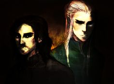 Túrin and Beleg from Silmarillion (and Unfinished Tales)