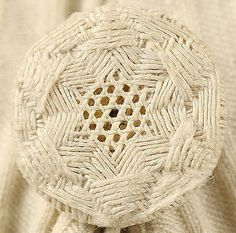 Woven button from Coat 1815