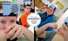 "Fun ideas for using ""Headbanz"" in Essentials class for IEW or EEL review"