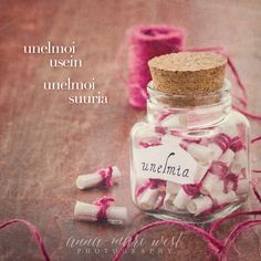 Juliste; Unelmoi usein | Anna-Mari West Photography