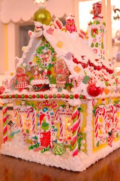 Another Glow to Go Wired Wood Gingerbread House by cathypagedaniel
