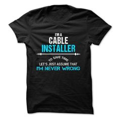 Awesome Ferrari 2017 -  Love being A CABLE INSTALLER T-Shirts, Hoodies. Get It Now ==> www.sunfrog.co...  Sunfrog Shirts Coupon Code September 2017 Check more at http://carsboard.pro/2017/2017/07/03/ferrari-2017-love-being-a-cable-installer-t-shirts-hoodies-get-it-now-www-sunfrog-co-sunfrog-shirts-coupon-code-september-2017/