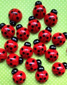 Delightful ladybugs by Efachka on Etsy