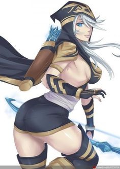 league of legends ashesexy - Google Search