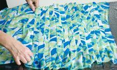 Veja como plissar saias e vestidos com materiais muito simples