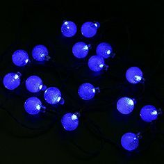 Raysflt Solar Outdoor String Light 6M 30LED Crystal Ball ... http://www.amazon.com/dp/B01G1G5C6I/ref=cm_sw_r_pi_dp_aQvtxb0G9YQ94
