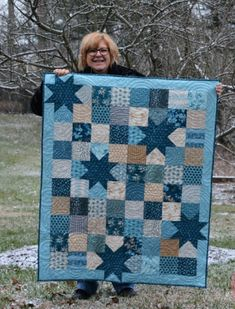 Boys quilt patterns - Pat Sloan's Free Patterns – Boys quilt patterns Charm Pack Quilt Patterns, Baby Boy Quilt Patterns, Charm Pack Quilts, Charm Quilt, Quilting Patterns, Free Quilt Block Patterns, Quilts For Men Patterns, Christmas Quilt Patterns, Christmas Quilting