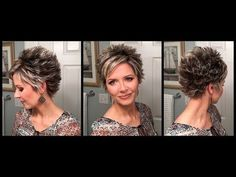 Troubleshooters Guide to Styling a Longer Pixie | In-depth Hair Tutorial - YouTube
