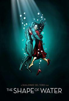 The Shape of Water Fan Art by Rafael Danesin
