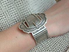 Zilveren gesp armband van www.bonbijou.nl