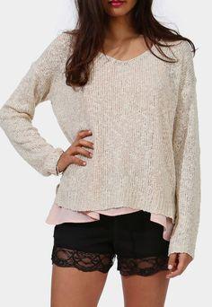Springing Sweater-this looks like good writing attire :)