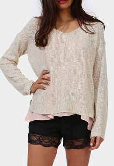 Springing Sweater-this looks like good writing attire :)