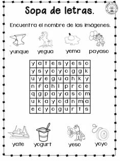 Cuadernillo para-primer-grado Teaching, Word Search, Homeschooling, Classroom, English, Frases, Wordsearch For Kids, Teaching Letters, Writing Activities