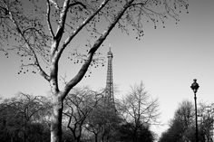 #Black and #White picture of the   #EiffelTower #Paris #France    Photo: (c) mohamedkhalil.tum...  Great artist, click  the link to have a look at his pictures :)  Planning a trip to Paris? Book a #room  at Cadran #Hotel www.cadran-hotel-...