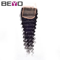 31.24$  Watch more here - http://aidhy.worlditems.win/all/product.php?id=32305752865 - Brazilian deep wave closure brazilian deep curly virgin hair brazilian deep curly closure 7A unprocessed virgin hair human hair